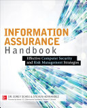 Information Assurance Handbook  Effective Computer Security and Risk Management Strategies