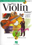 Play Violin Today  Beginner s Pack