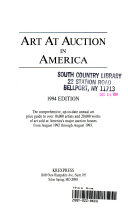 Art At Auction In America : ...