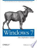 Windows 7 Book PDF