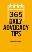 Ebook 365 Daily Advocacy Tips Epub Leslie Cuthbert Apps Read Mobile