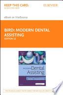 Modern Dental Assisting   E Book