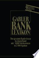 Bank Lexikon