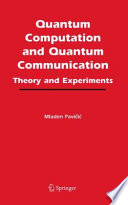Quantum Computation and Quantum Communication