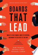 Boards That Lead