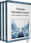 Enterprise Information Systems Concepts Methodologies Tools And Applications