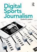 Digital Sports Journalism