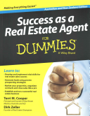 Success as a Real Estate Agent for Dummies   Australia   NZ