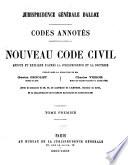 Les Codes Annot  sNouveau code civil