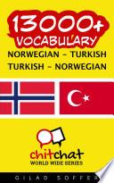 13000  Norwegian   Turkish Turkish   Norwegian Vocabulary