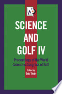 Science And Golf Iv book