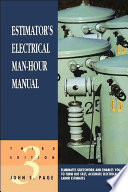 Estimator s Electrical Man Hour Manual