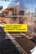 Transit Oriented Displacement or Community Dividends  Book PDF