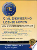 Civil Engineering License Review  14th Edition