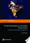 Private Participation in the Indian Power Sector