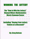 Winning The Lottery : my winning lottery tickets, side-by-side, in the background!...