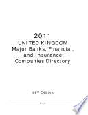 UNITED KINGDOM Major Banks  Financial   Insurance Companies Directory