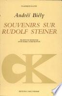 Souvenirs sur Rudolf Steiner