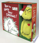 How the Grinch Stole Christmas  Book and Grinch