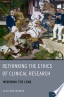 Ebook Rethinking the Ethics of Clinical Research Epub Alan Wertheimer Apps Read Mobile