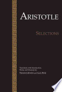 Aristotle  Selections