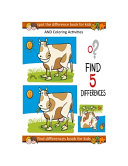 Find Differences Book for Kids