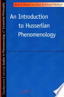 Introduction to Husserlian Phenomenology