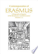 Contemporaries of Erasmus