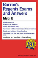 Barron s Regents Exams and Answers  Math B