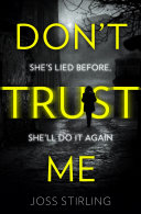 Don   t Trust Me  The best psychological thriller debut you will read in 2018