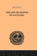 download ebook the life or legend of gaudama pdf epub
