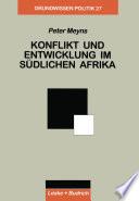Konflikt und Entwicklung im Südlichen Afrika