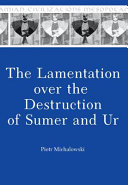 The lamentation over the destruction of Sumer and Ur