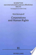 Corporations and Human Rights