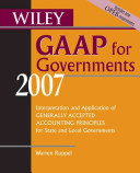 Wiley GAAP for Governments 2007