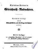 Christian Scrivers' Gleichniss-Andachten