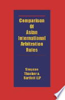 Comparison of Asian International Arbitration Rules