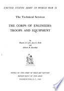 The Corps of Engineers: Troops and Equipment