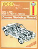 Ford Escort Rs Mexico Owner S Workshop Manual