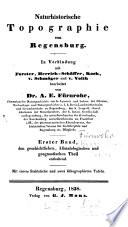 Naturhistorische Topographie von Regensburg