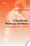 O Desafio das Mudanças Climáticas