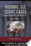 Historic U S  Court Cases