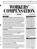 BNA s Workers  Compensation Report