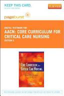 Core Curriculum for Critical Care Nursing Access Code