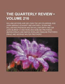 download ebook the quarterly review pdf epub
