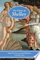The Poems of Shelley  Volume Two