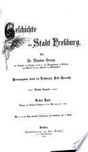 Geschichte der Stadt Pressburg