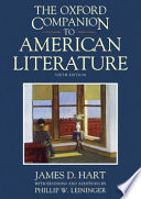 The Oxford Companion to American Literature Other Aspects Of American Literature