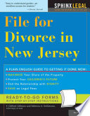 File for Divorce in New Jersey