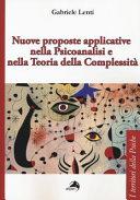 Nuove proposte applicative nella psicoanalisi e nella teoria della complessit